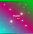 cyan red green abstract background vector image