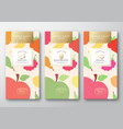 dried fruits label packaging design layout vector image vector image