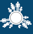 Family icons pictograms vector image vector image