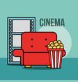 film movie cinema vector image