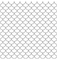 fish scales simple seamless pattern vector image vector image