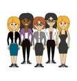 friends women happy together icon vector image