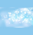 new years christmas chaotic blur bokeh of light vector image vector image