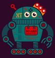 rolling robot 2 vector image