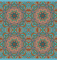Seamless floral ethnic motives mandala zentangl