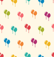 Seamless Pattern Multicolored Balloons for Happy vector image vector image