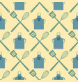 spatula whisk seamless pattern cooking badge vector image vector image