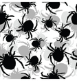 Spider background vector image