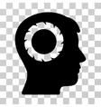Human Memory Wheel Icon vector image