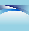 abstract blue curve shape header template
