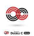 Double C Infinity vector image
