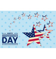 independence day greeting card flyer vector image vector image