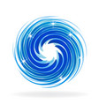 shiny spiral wave vector image vector image