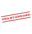 USA Standard Watermark Stamp vector image vector image
