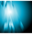 Abstract blue shiny elegant background vector image vector image