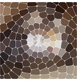 abstract colorful mosaic background of vector image vector image