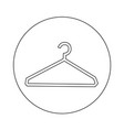 clothes hanger icon design vector image