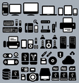 Computers and peripherals vector | Price: 1 Credit (USD $1)