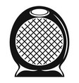 home air heater fan icon simple style vector image