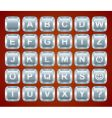 keyboard buttons vector image vector image