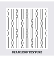 Lines geometric seamless pattern vector image vector image