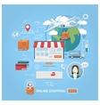 Shopping vector image vector image