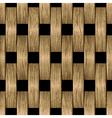vintage wooden blocks vector image vector image