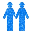 Workers Grainy Texture Icon vector image vector image