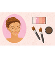 face contouring vector image
