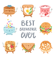 Best breakfast ever vector image vector image
