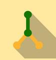 dna molecule bio abstract logo design vector image vector image