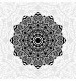 mandala abstract pattern vector image vector image