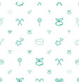 sugar icons pattern seamless white background vector image vector image