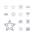 13 trendy icons vector image vector image