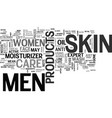 a note from women to men get your own skin care vector image vector image