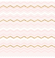 Abstract geometric seamless pattern with chevron vector image vector image