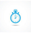 Chronometer icon vector image vector image