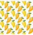 Mango seamless pattern endless background vector image vector image