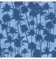seamless Palm trees pattern vector image vector image