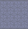 abstract blue squares and rhombus with ornate vector image