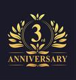 3rd anniversary logo 3 years anniversary design