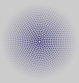 circles on a gray background vector image vector image