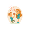 Couple in love 22 vector image vector image
