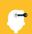 creative idea concept flat design vector image