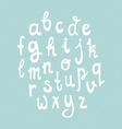 Handdrawn Alphabet vector image vector image
