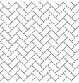herringbone parquet diagonal seamless pattern vector image vector image
