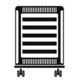 home oil radiator icon simple style vector image vector image