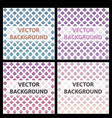minimal covers design colorful halftone gradients vector image vector image