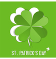 St Patrick Day sticker vector image
