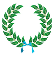 Winner Laurel wreath vector image